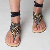 Чорап за сандали с връзки 10 (снимка)