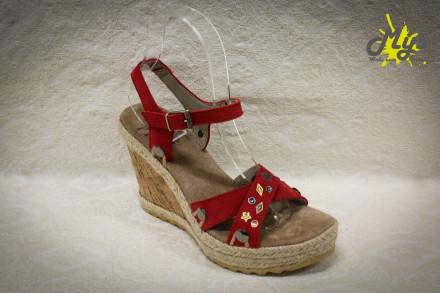 Платформи за сандали, колекция 2017 (снимка)