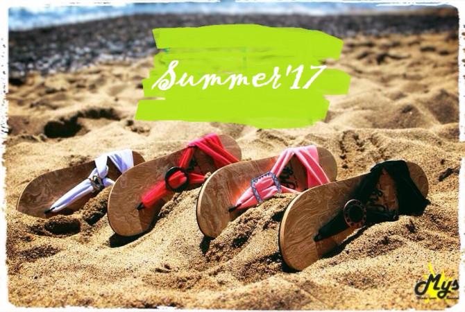 Снимка на сандали за лятото